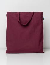Cotton Bag, Fairtrade-Cotton, short handles