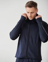 Men´s Hoodie With Reflective Tape